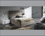 Поръчкова тапицирана спалня за София